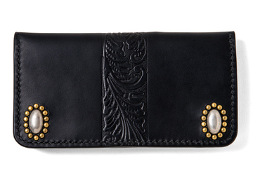 ALMOND HEAD STUDS LONG WALLET