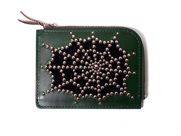 SPIDERWEB ZIP WALLET