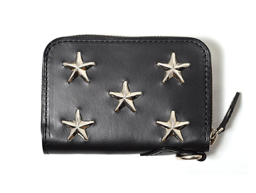 STAR STUDS SMALL ZIP WALLET