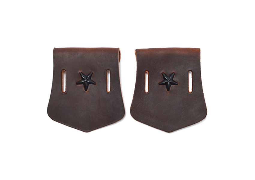 STAR STUDS FRONT APRON FOR ENGINEER BOOTS