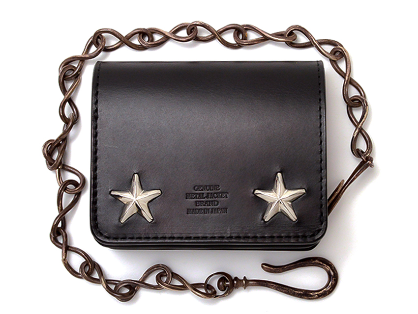 STAR STUDS COMPACT WALLET