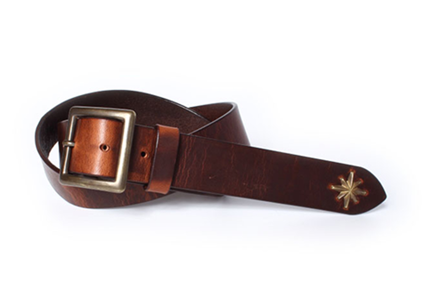 STARBURST STUDS LONG BELT