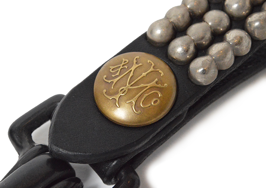 THREE BEAD KEY FOB