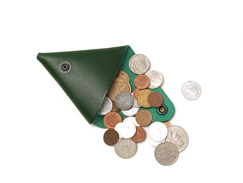 TRIANGLE COIN CASE