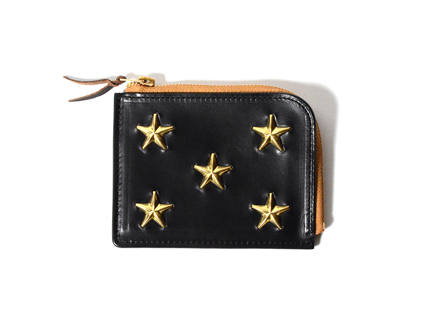STAR STUDS SHORT ZIP WALLET