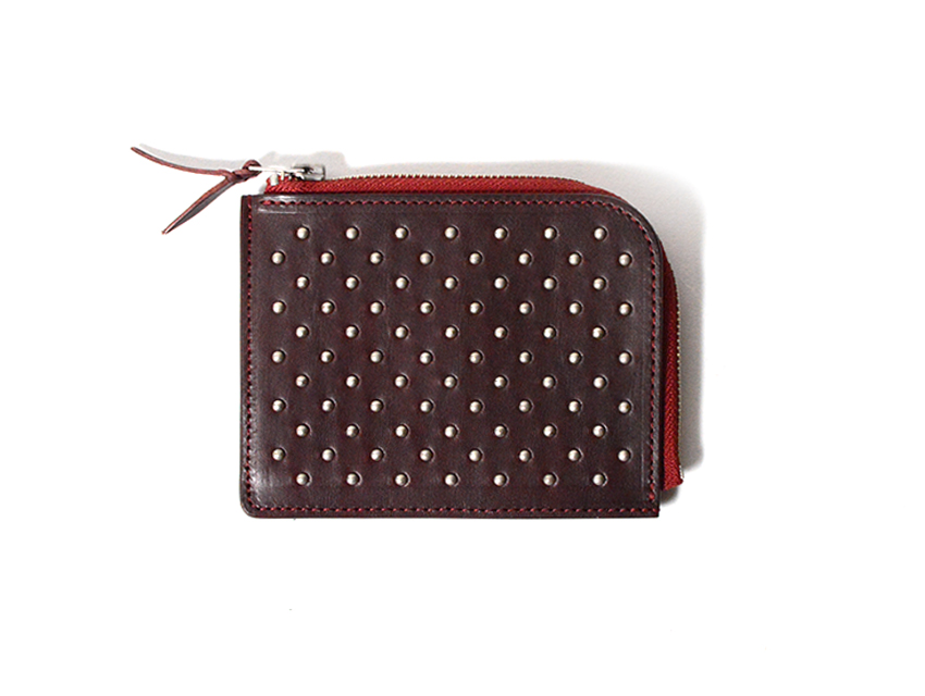 DOT STUDS SHORT ZIP WALLET
