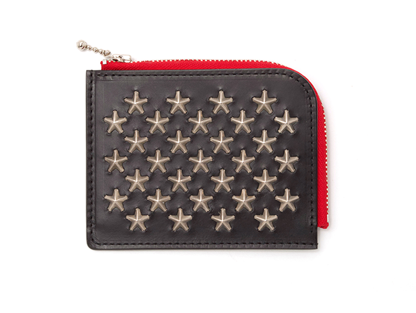 STAR DOT SHORT ZIP WALLET