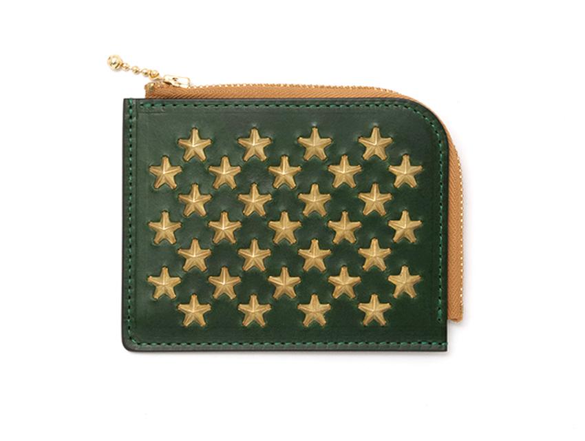 STAR DOT SHORT ZIP WALLET