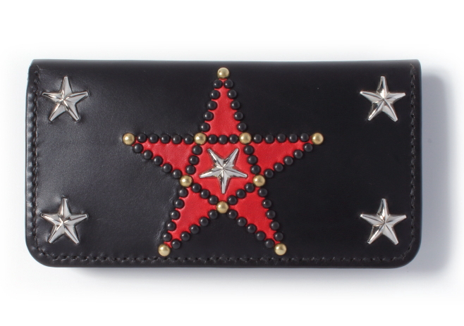 PENTAGRAM STUDS LONG WALLET type-2