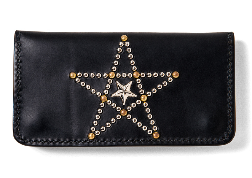 PENTAGRAM STUDS LONG WALLET